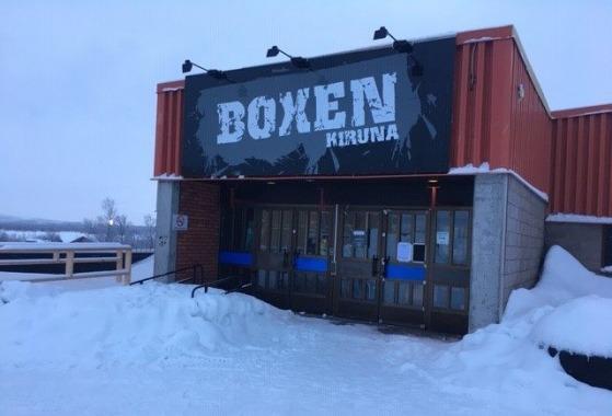 Rymlig lokal med bra läge i Kiruna