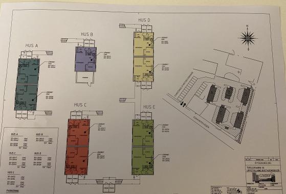 Företagsboende, 18 lägenheter, blockhyres